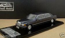 1/43 Mercedes-Benz W126 series 560SEL Limousine 1990 (Deep pearl blue )