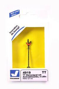 Viessmann Wartesignal mit Anstrahlleuchte Spur TT Epoche III-V Signal OVP