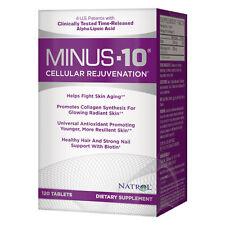 Natrol Minus 10 300mg Cellular Rejuvenation 120 Tablets