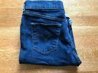 Levis Bermuda Shorts Stretch Denim Jeans- Womens Size 10/30 Medium Blue