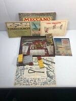 1920's Meccano 1 Engineering For Boys Boxed & Paperwork / Instructions
