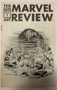 (1976) THE MARVEL ART REVIEW #1 Fanzine