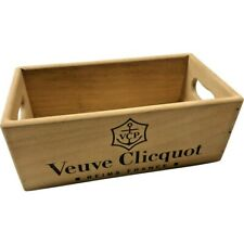 Wooden Storage Box Crate | Veuve Clicquot Champagne | Vintage Style Collectable