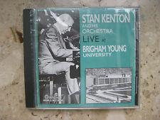 Stan Kenton Orch. - Live at Brigham Young Univ. (CREATIV World Rec.'89/...