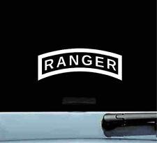united states army ranger vinyl decal sticker bumper car truck soldier military