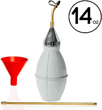 Punchau Pest Control Duster with 12 Inch Brass Extension - Bug Duster Evenly to