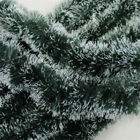 2M GREEN Shining  Tinsel Garland Christmas Tree Decoration  Party Decorations