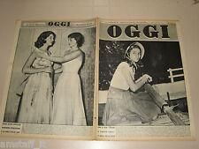 OGGI=1950/37=ANNA MARIA PIERANGELI=MAURICE HERZOG ANNAPURNA=JINX CLARK=MISS=