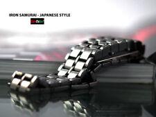 Elegante Orologio Led Extra Luminosi Iron Lava Samurai Design Non Scolora Watch