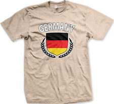 Germany Shield Crest Coat Of Arms German Country Born From DEU DE Men's T-Shirt