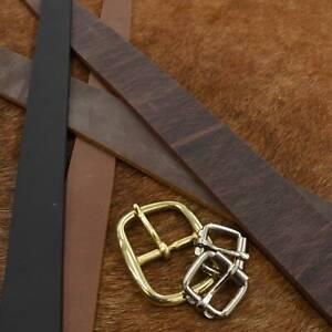"Leather Minnesota Superior Pre-Cut Belt Blanks 54"" Various Widths Cow 9-10 oz"