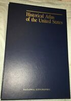 1993 NATIONAL GEOGRAPHIC'S HISTORICAL ATLAS OF THE UNITED STATES - MAPS