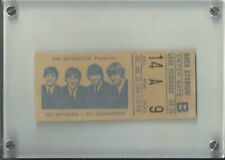 THE BEATLES SHEA STADIUM CONCERT TICKET  AUGUST 23 1966