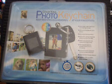 "Innovage Digital Photo Keychain 8MB 60 LCD 1.4"" Rechargeable- Black- New!"
