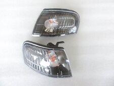 For 1995 1996 1997 1998 99 Nissan Sentra B14 200SX SE-R Black Corner Light Lamp
