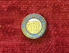 Vintage United Steel Workers of America AFL CIO CLC Metal Enamel Pin Badge USA