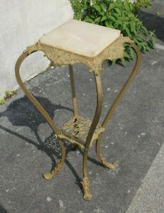 19th Century Annex Top Brass Pedestal