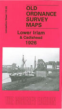 OLD ORDNANCE SURVEY MAP MANCHESTER LOWER IRLAM CADISHEAD GREEN LANE 1926