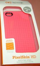 Speck PixelSkin HD high grade gel case for Apple iPhone 4/4s, Pink, NEW