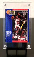 "1991-92 Fleer Michael Jordan ""League Leaders"" Insert Card #220. Chicago Bulls."