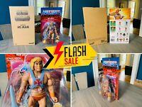 🔥 Masters Universe He-Man Ultimates Filmation Mailer Super7 MOTUC Classics 🔥