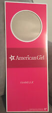 American Girl ISABELLE (Doll of the Year) Box Top only, Retired, Unavailable NEW