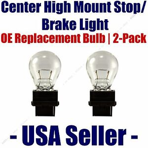 Center High Mount Stop/Brake Bulb 2-pack fits Listed Chevrolet Vehicles - 3156