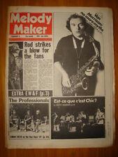 MELODY MAKER 1979 FEB 3 VAN MORRISON CLASH BLONDIE PIL
