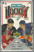 1991-92 UPPER DECK NHL HOCKEY UNOPENED SEALED BOX 36 PACKS