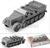 WWII German Sd.Kfz. 7 Half-Track Military Vehicle 1:72 Plastic Model Kit