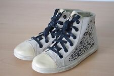 New Look Real Suede Lace Up Trainer Boots Size 5 BNWL