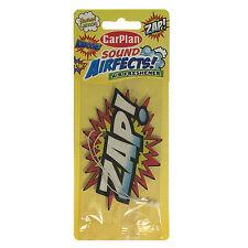 Carplan ZAP! Sound Effect Car Air Freshener Freshner Scent - Sweet Lemon