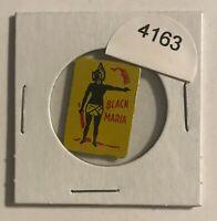 VINTAGE TIN LITHOGRAPHED TOBACCO TAG - BLACK MARIA - BLACK AMERICANA    #4163