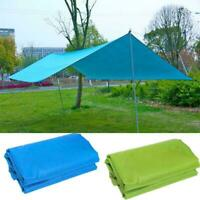 Waterproof Camping Tent Tarp Outdoor Awning Shade Sun Shelter Mat Canopy