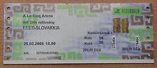 Tickets Estonia - Slovakia 2005