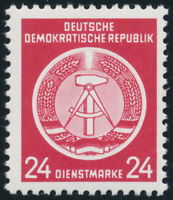 DDR-Dienst, MiNr. A 9 x X I, tadellos postfrisch, gepr. Paul, Mi. 35,-