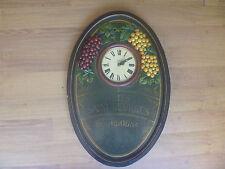 "tableau horloge ""NUITS SAINT GEORGES"" country corner ""RARE!"