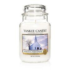 Yankee Candle - WHITE CHRISTMAS - 22 oz - Great Christmas Candle!! - RARE!!