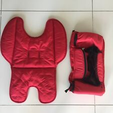 INFANT BODY INSERT LINER & CADDY RED Steelcraft STRIDER COMPACT