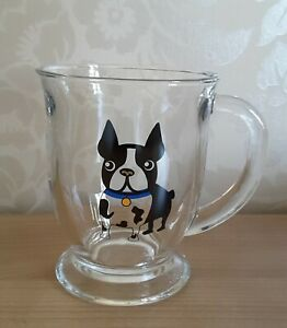Circleware Joe Boston blue collared Terrier dog mug
