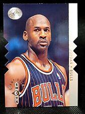 1995-96 UD SP Championship Shots Michael Jordan Die Cut Silver SP Chicago Bulls