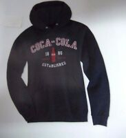 Coca-Cola Black Sweatshirt w/Hoodie (XL) - BRAND NEW!