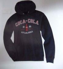 Coca-Cola Black Sweatshirt w/Hoodie (XL) - BRAND NEW!