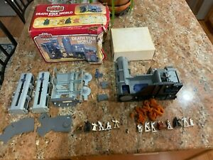 VINTAGE KENNER STAR WARS MICRO COLLECTION DEATH STAR WORLD COMPLETE WITH EXTRAS