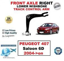 FRONT AXLE RIGHT LOWER WISHBONE CONTROL ARM for PEUGEOT 407 Saloon 6D 2004->on