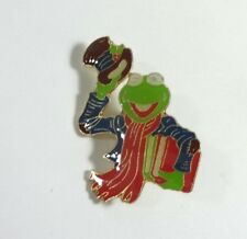 Rare Jim Henson Muppets - Kermit the Frog Top Hat Pin - VG Condition