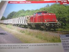 Archiv  Eisenbahnstrecken 395 Meppen Essen (Oldenburg)