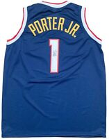 Michael Porter Jr. autographed signed jersey NBA Denver Nuggets JSA COA