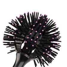 Hot 3D Round Hair Brushes Comb Salon 360 degree Ball Magic Detangling Hairbrush