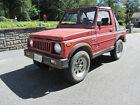 1985 Suzuki Samurai JL 1985 Suzuki Samurai SJ410 fun little truck CHEAP
